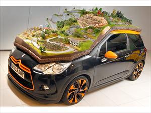 Citroën crea maqueta del WRC sobre un DS3