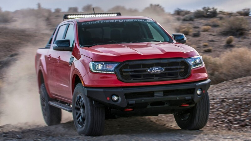 Ford Ranger eleva sus capacidades 4x4 por medio de tres paquetes de personalización