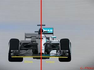 Los cambios en la Fórmula 1 para la temporada 2017