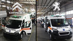 Citroën y Peugeot entregaron ambulancias a la provincia de Córdoba