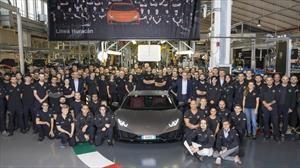 Lamborghini Huracán logra vender en cinco años, lo que el Gallardo en una década