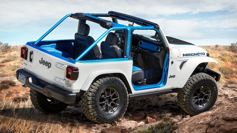 Jeep presenta sus conceptuales para Moab 2021