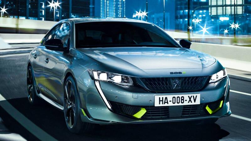 Peugeot 508 PSE, los nuevos deportivos de la gama serán híbridos de enchufe