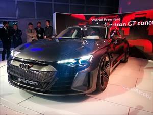 Audi e-Tron GT Concept, es prácticamente un A7 con propulsor eléctrico