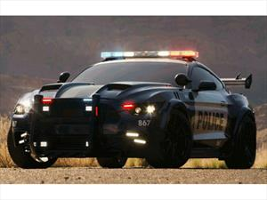 Barricada, el Mustang de Transformers: The Last Knight