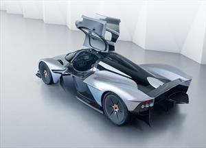 El Aston Martin Valkyrie se prepara para su llegada