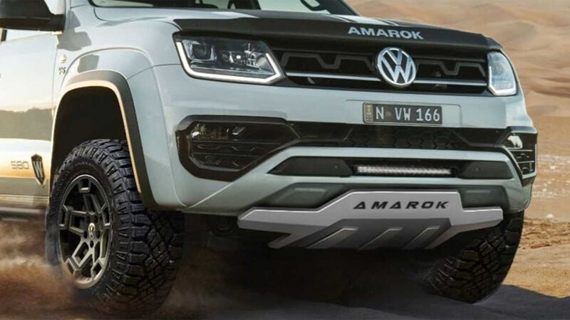 Amarok W580X la anti Raptor de VW con motor V6