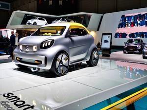 Smart forease+, un mini roadster eléctrico muy citadino