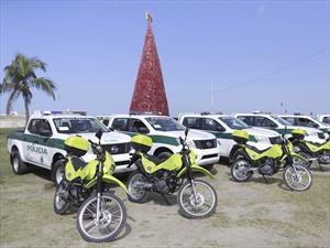 Nissan NP300 Frontier, elegida para reforzar la seguridad en Colombia