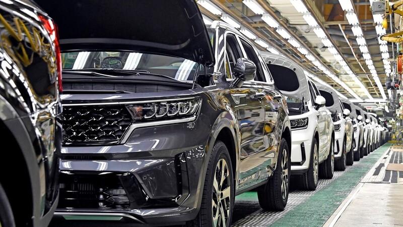 Inicia la producción de la Kia Sorento Hybrid 2021 en Corea del Sur