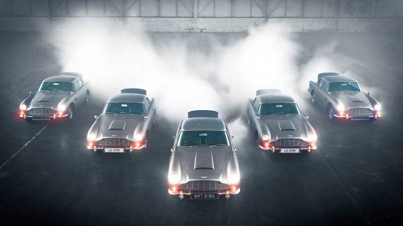 Video: Aston Martin muestra las armas del DB5 Goldfinger Continuation