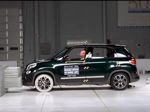 FIAT 500L obtiene el Top Safety Pick + del IIHS