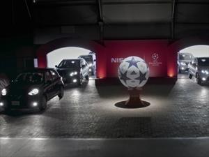 Nissan y un particular partido de fútbol