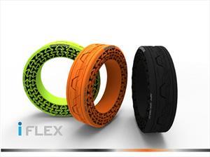 Hankook iFlex, las llantas que no necesitan aire