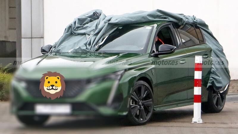 Nuevo Peugeot 308 al desnudo