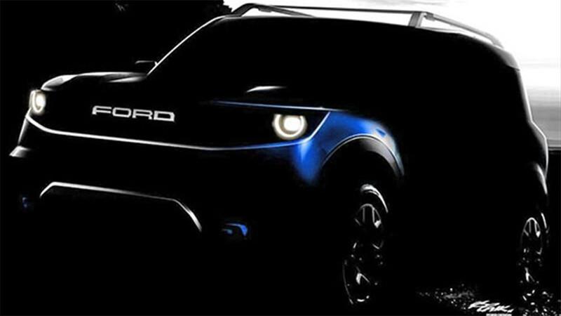 Ford trabaja una Bronco en formato Ecosport
