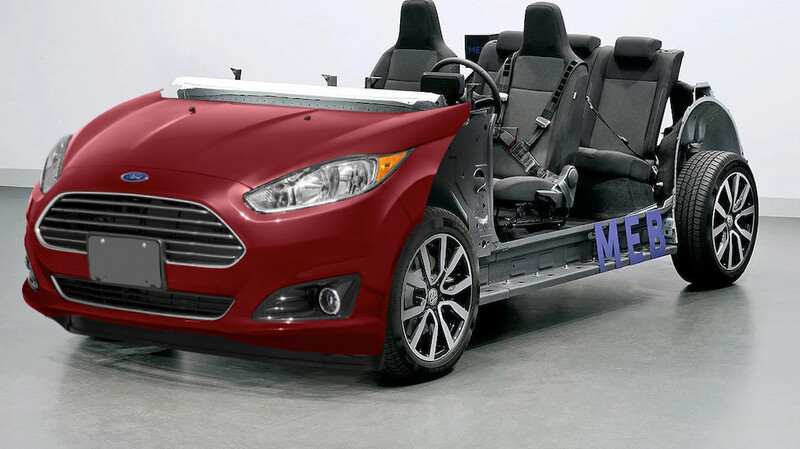 El próximo Ford Fiesta usará la plataforma eléctrica de Volkswagen