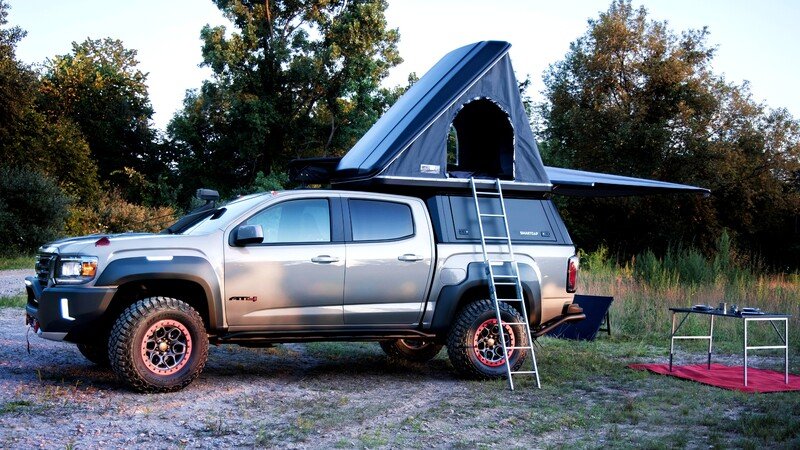 GMC Canyon AT4 Ovrlandx Concept: una casa rodante para el off-road extremo