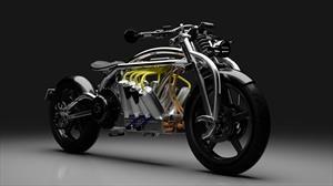 Rayos: crean una moto V8 eléctrica