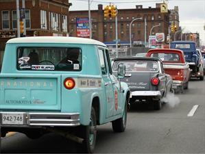 The Drive Home IV, viaje de Texas a Detroit para llegar al NAIAS