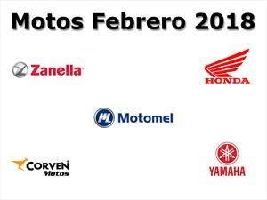 Top 10: Las marcas de motos que más vendieron en febrero en Argentina