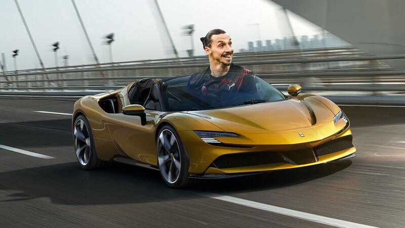 Zlatan Ibrahimovic se regala un Ferrari SF90 Spider