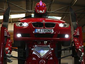BMW Serie 3 Transformer, un auto de película