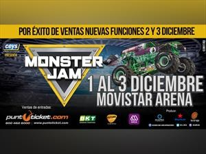 Monster Jam, el show de camionetas monstruo regresa en diciembre a Chile