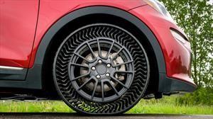 Adiós al aire en los neumáticos gracias a Michelin y General Motors