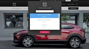 Mazda presenta plataforma online para separar vehículos
