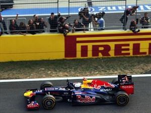 F1 Sebastian Vettel se impuso en el GP de Corea