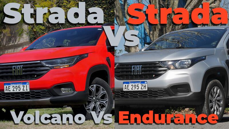 FIAT Strada 2020 1.4L Vs Strada Volcano 1.3L