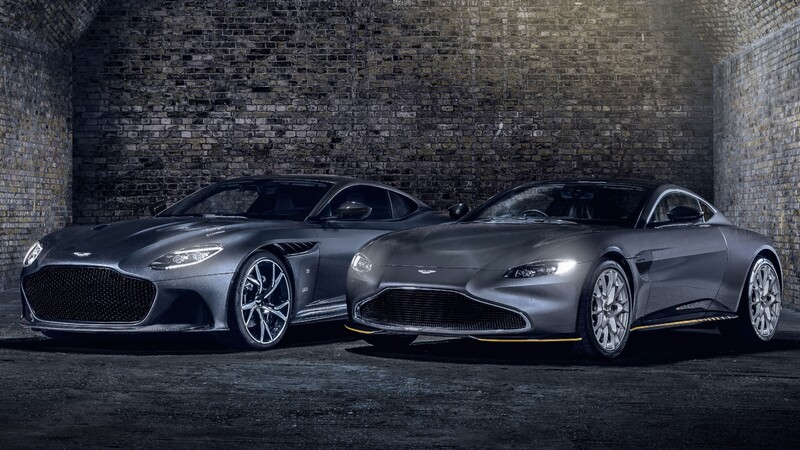 Aston Martin Vantage 007 Edition y DBS Superleggera 007 Edition rinden homenaje a James Bond
