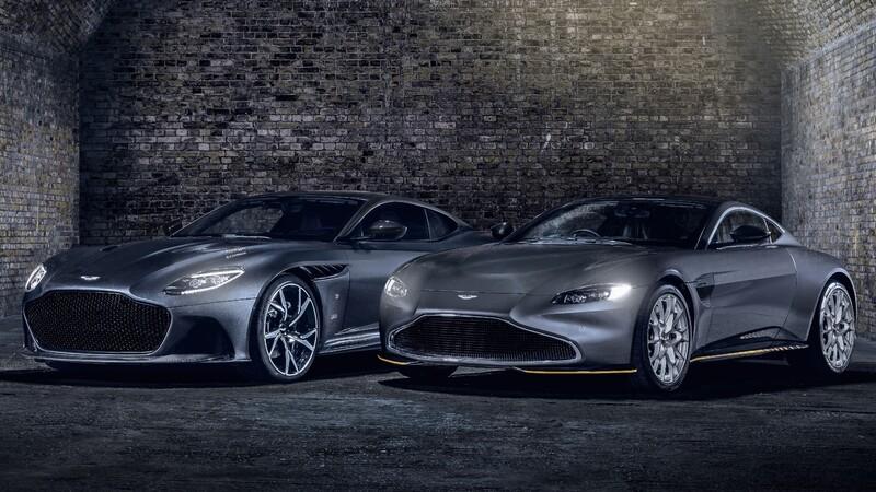 Aston Martin 007 Edition: Las nuevas máquinas de James Bond