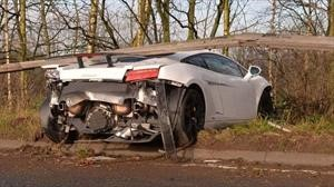 Chiquito Romero no ataja a su Lamborghini