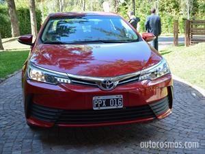Toyota Corolla se renueva en Argentina