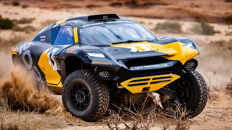 McLaren se suma a la aventura de la Extreme E