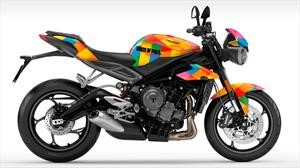 Harley Quinn se monta a una Triumph Street Triple RS para la película Birds of Pray