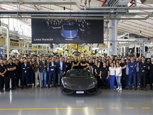 Lamborghini Huracán logra 8,000 unidades producidas