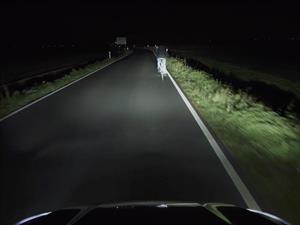 Ford crea un sistema de luces que leen el camino