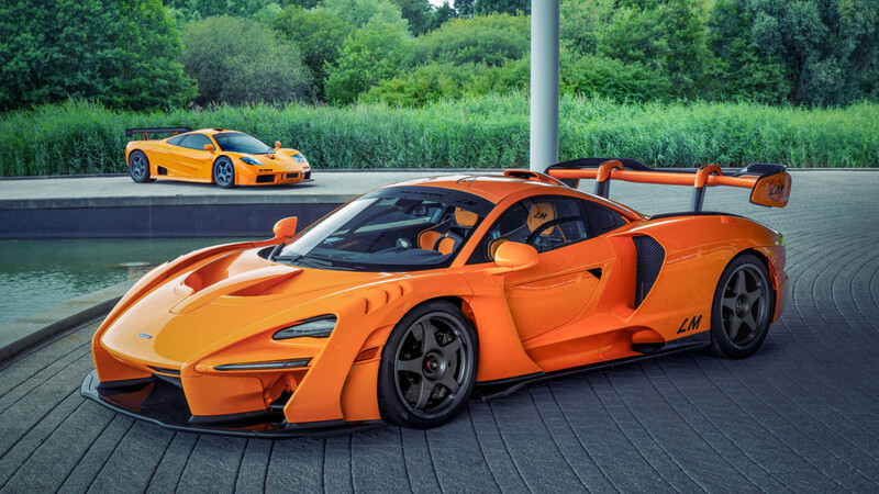 McLaren Senna LM 2021 es el auto que rinde homenaje al F1 GTR que ganó Le Mans