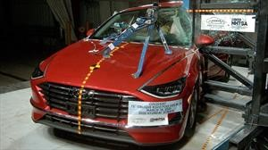 Hyundai Sonata 2021 recibe 5 estrellas de la NHTSA