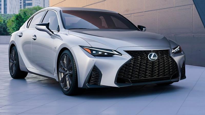 Nuevo Lexus IS: Lavado de cara y poco más