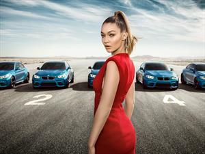 Video: ¿En qué BMW M2 quedó la modelo Gigi Hadid?
