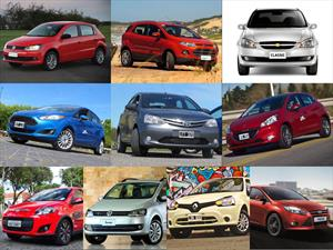 Top 10 los autos más vendidos en noviembre de 2014