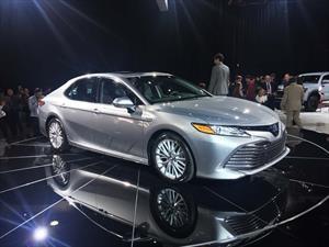 Toyota Camry 2018, el auto más vendido de Estados Unidos se renueva