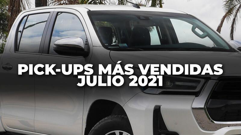 Top 10: Las pick-ups más vendidas de Argentina en julio de 2021