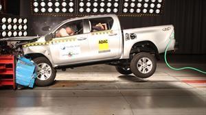 Los Toyota Hilux y Fortuner reciben el máximo puntaje en Latin NCAP