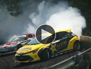 Video: Mirá este fantástico Toyota Corolla de la Formula Drift