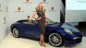 María Sharapova, la nueva embajadora de Porsche